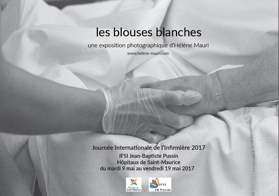 Photo de l'expo des blouses blances